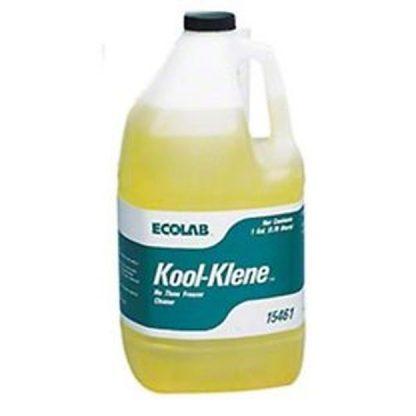 1 x 3.78 Litres (1 US Gal) Ecolab 15461 Kool Klene - No Thaw Freezer Cleaner