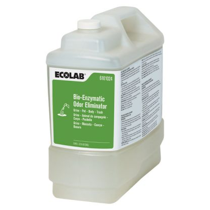 Ecolab 6101024 Bio-Enzymatic Odor Eliminator For Urine, Pet, Body, Trash